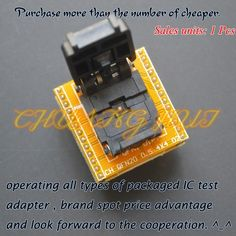 73.00$  Buy here - http://ali2vo.worldwells.pw/go.php?t=32464373128 - IC TEST QFN20 to DIP20 Programmer Adapter Pitch=0.5mm  DFN20 MLF20 WSON20 ic test socket 73.00$