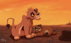 The Lion King - Scar, Zira, Nuka, Kovu and Vitani