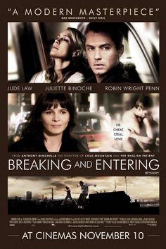 what a movie...jude law and robin wright have an autistic daughter who never sleeps...juliette binoche has a son who is a thief...such strong emotions and sorrow for parents...for life...for love...