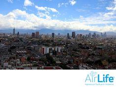 Ciudades más limpias. LAS MEJORES SOLUCIONES EN PURIFICACIÓN DEL AIRE. Cuando la contaminación es muy densa, puede notarse a simple vista como una capa de neblina sucia. En AirLife, queremos ciudades más limpias para que puedas tener una mejor calidad de vida y una mejor salud. En AirLife, lo hacemos posible, gracias  a nuestras soluciones enfocadas a la eliminación de contaminantes. www.airlifeservice.com #airlife