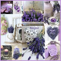 Just purple please Lavender Cottage, Lavender Fields, Purple Haze, Shades Of Purple, Bath And Shower Products, Beautiful Collage, Shabby Chic Interiors, All Things Purple, Life Photo