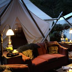 The New Bachelorette Party - Glamping - Get the girls together for a luxe weekend escape. We're talking about a decked-out cabin in the woods or a chic chalet in the mountains. - Photo: Thinkstock / The Knot Bridesmaids And Mother Of The Bride, Go Glamping, Bachelorette Party Games, Bachelorette Weekend, Cabins In The Woods, Party Planning, Wedding Planning, Outdoor Living, Anniversary Gifts