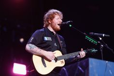 """In a very cool expression of his love for his Irish lineage, Ed Sheeran has recorded """"Thinking Out Loud"""" in Irish Gaelic, the historic language of Ireland. Sheeran sang a translation of the hit song for the Irish radio station Raidió Rí Rá annual… Ed Sheeran Eyes, New Ed Sheeran, Quitting Social Media, Worst Celebrities, Irish Eyes Are Smiling, Thinking Out Loud, Top 5, Hit Songs, Music Education"""