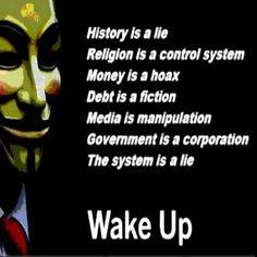 History, religion, control, media, money, government, lies