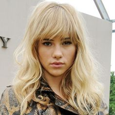 Model Suki Waterhouse (a.k.a Bradley Cooper's girlfriend) looks fierce with her new tousled cut.