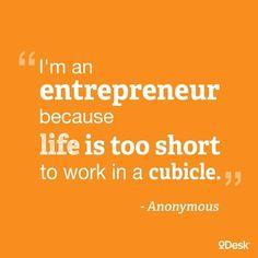 Be an entrepreneur!