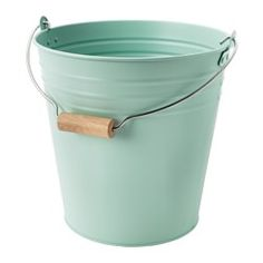 IKEA - SOCKER, Bucket/plant pot, Decorate your home with plants combined with a plant pot to suit your style.