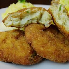 KVĚTÁKOVÉ KARBANÁTKY SE SÝREM Tofu, Baked Potato, French Toast, Food And Drink, Low Carb, Cooking, Breakfast, Ethnic Recipes, Fitness