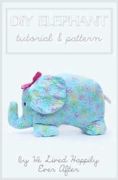 Adorable DIY Elephant