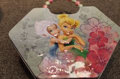 Tinkerbell and Periwinkle Tin Lunch Box - Purse - New - Girls - Fairy Disney