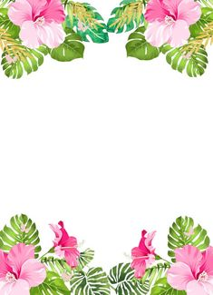 41 ideas for wallpaper computadora tropical Aloha Party, Hawaiian Party Favors, Flamingo Birthday, Flamingo Party, Diy Invitations, Birthday Party Invitations, Tropical Party, Girl First Birthday, Diy Birthday