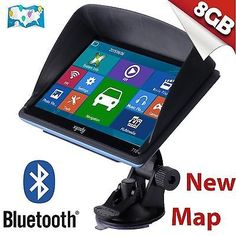nice 2015 7 Inch Car GPS Navigation SAT NAV 8GB Bluetooth Navigator with Sunshade - For Sale Check more at http://shipperscentral.com/wp/product/2015-7-inch-car-gps-navigation-sat-nav-8gb-bluetooth-navigator-with-sunshade-for-sale/