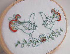 Embroidery Patterns Hand Embroidery STITCHES DEL от SeptemberHouse