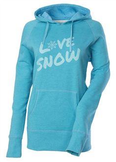 Divas SnowGear - Love Snow Pullover Hoodie