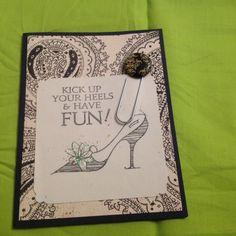 Kick up your heels @ uniqueegreetings.com
