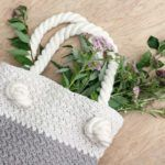 """Suzette"" Free Crochet Bag Pattern For Beginners"