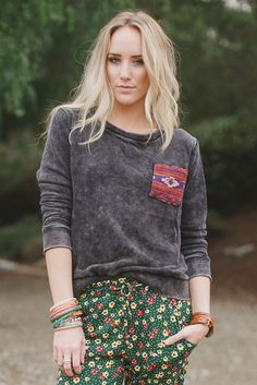 Boho Lounge Sweatshirt