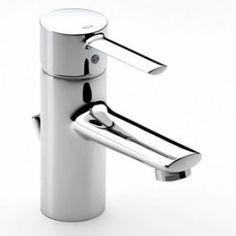 Monomando para lavabo con conexiones flexibles. Con o sin desagüe automático  Conexiones flexibles