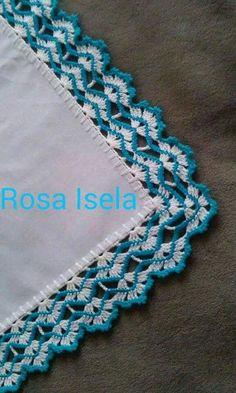Look Bak Bitmez 107 Different Crochet Hijab Towel Edge Needlework Model - lace things Crochet Boarders, Crochet Edging Patterns, Crochet Lace Edging, Crochet Motifs, Thread Crochet, Crochet Trim, Crochet Granny, Filet Crochet, Love Crochet