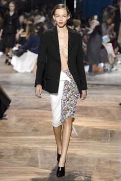 Dior Couture sheer top! Love it!