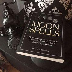 minimalist, moon, and spells image