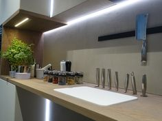 Küchenbeleuchtung - realisiert durch die IMMER AG Lux-Manufaktur Led, Bathtub, Bathroom, Design, Standing Bath, Washroom, Bathtubs, Bath Tube, Full Bath