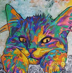 Spectra Carpet Print by Asra Rae