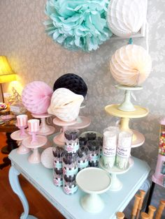 Miss Etoile cakestands candy shop helsinki finland