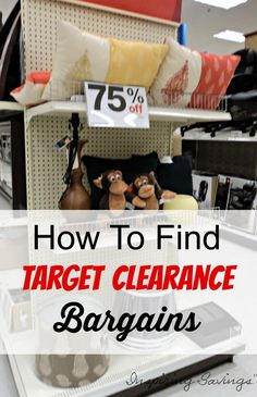 Loving shopping at Target. Learn how to save more money at Target by finding bargains within their clearance sections. Find everything you need from Home Decor, clothing, to gift ideas. This tips will help you find Target Markdowns. Bargain Shopping, Shopping Hacks, Go Shopping, Store Hacks, Ways To Save Money, Money Tips, How To Make Money, Target Clearance, Living On A Budget