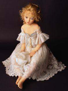 Porcelain Doll Making....Tatiana ... by doll artist Heloise