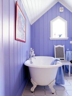 New Bathroom Wall Decor Purple Tubs Ideas Bathroom Wall Decor, Bathroom Colors, Small Bathroom, Bathroom Green, Paint Bathroom, Downstairs Bathroom, Bathroom Ideas, Serene Bedroom, La Face