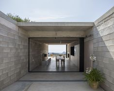 View the full picture gallery of House On Mount Maigmó Natural Stone Wall, Concrete Blocks, Alicante, Stunning View, Contemporary Architecture, Solar Panels, Facade, House, Cottage