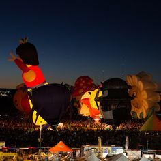 Timelapse: Albuquerque Balloon Fiesta on Vimeo