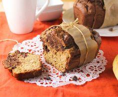 Marbled-Chocolate Banana Bread