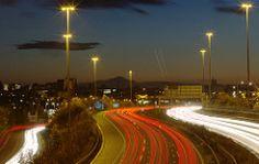 Stockport Streakers (Steve Gait) Tags: motorway stockport