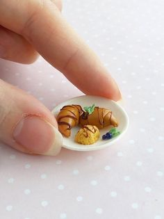 Miniature Reutter Porcelain Honey Pot//Dipper DOLLHOUSE 1//6 or Large 1:12 Scale