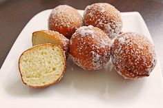 Quarkbaellchen or German Mini Fried Cheese Balls - little balls that are just delicious! #authenticgermanrecipe #germanrecipes