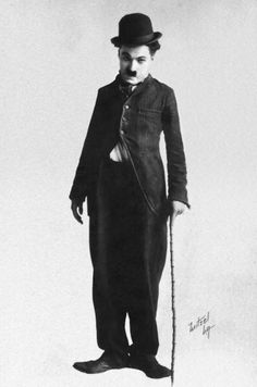 """"""" Charlie Chaplin posing in his Tramp costume """" Charlie Chaplin Old, Charles Spencer Chaplin, What Is Today, Great Walks, Hooray For Hollywood, Comedy Tv, Silent Film, Historical Pictures, Classic Films"""