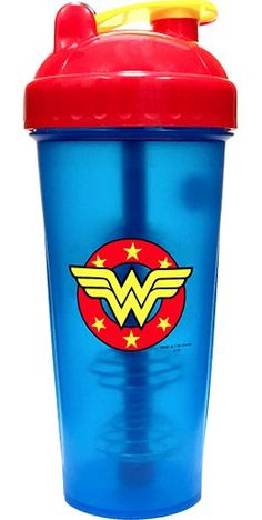 PerfectShaker Hero Series Wonder Woman Shaker Cup, 28oz (800ml) - PerfectShaker