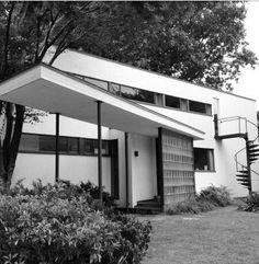 The Gropius House. 1937. Lincoln, Massachusetts.