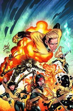 New Mutants By Leonard Kirk
