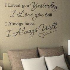 mooie tekst op de muur