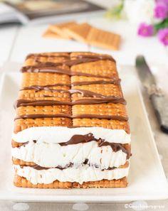 lingotto di biscotti Nutella, Sweet Recipes, Cake Recipes, Cooking Time, Cooking Recipes, Cake Slicer, Cheesecake Cupcakes, Cake & Co, Desert Recipes