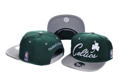 NBA Boston Celtics Snapback Hats Caps Mitchell And Ness 1993! Only $8.90USD
