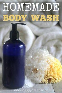 Homemade Body Wash Recipe