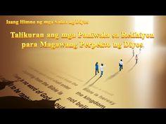 """Tagalog Christian Song   """"Talikuran ang mga Paniwala sa Relihiyon para M... Christian Skits, Christian Music, Choir Songs, Praise And Worship Songs, Devotional Songs, Christian Devotions, Tagalog, Word Of God, Apps"""
