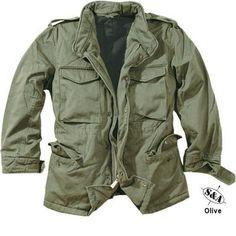 Olive US Army M65 field jacket