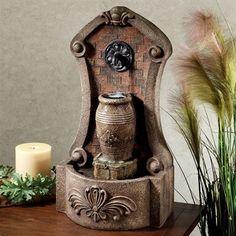 Artesia Indoor Outdoor Tabletop Water Fountain