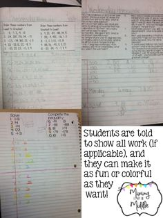 You Oughta Know About...SAVING ON COPIES!!!!! Homework Notebooks!