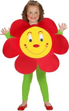 Childs Flower (Puffy Vest) Costume - 1 - 3 Years for sale online Carnival Costumes, Halloween Costumes For Kids, Diy Carnival, Children Costumes, Flower Pot Costume, Costume Fleur, Diy For Kids, Crafts For Kids, Fancy Dress For Kids